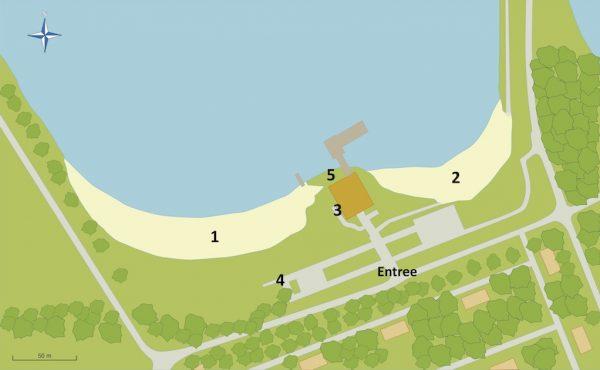 plattegrond-strand