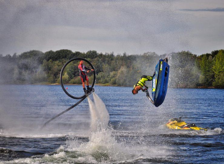 jet + flyboard